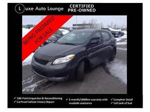 2009 Toyota Matrix - ONLY 88,000km!!! CLEAN!! power group, a/c!