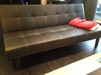 New Leather Sofa Bed