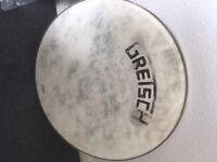 drum heads, skins, Remo , Gretsch, toms bass drum, 20,18, 12.