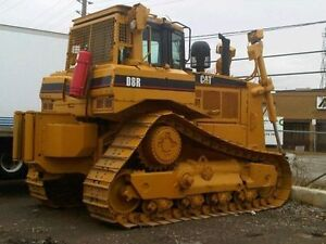 "Cat D8R Dozer c/w Winch, 13'2"" blade Fire Suppression System  12"
