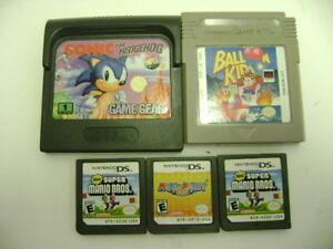 5 video game cartridges- one price