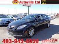 2013 Mazda 6 AUTO! EVERYONE APPROVED!! $88 BI-WEEKLY & $0 DOWN!!