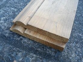 Skirting Board 5inch high 2 lenghts at approx 8ft long.