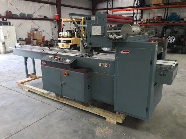 Shanklin F4A F-4A  Horizontal Flow Wrapper Automatic Continuous motion Form Fill