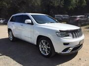 2013 Jeep Grand Cherokee WK MY2014 Summit White 8 Speed Sports Automatic Wagon Aspley Brisbane North East Preview