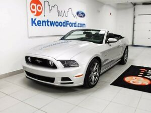 2014 Ford Mustang GT CONVERTIBLE! V8 Leather Seats!
