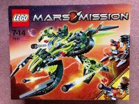 Very rare - LEGO Mars Mission ETX Alien Mothership Assault 7691 - new - sealed
