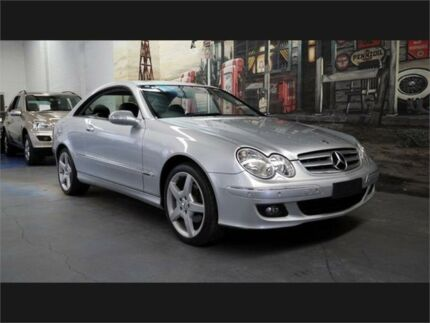 2006 Mercedes-Benz CLK280 C209 Elegance Silver Automatic Coupe Marrickville Marrickville Area Preview