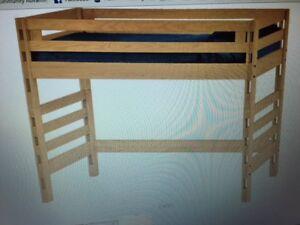 Crate Furniture loft bed