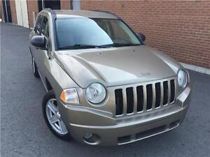 Jeep Compass Sport 2007,AUTO,4 CYL,4X4,MAGS,AC !