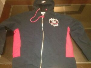 CAGE FIGHTER UFC MMA BLACK HOODIE WITH RED BRAND NEW SIZE LARGE