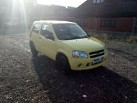 Suzuki Ignis 1.3 (Cheap car with towbar)