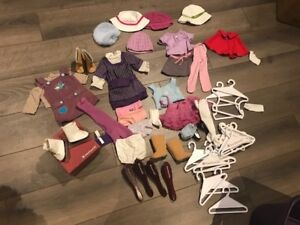 Lot of doll clothes/accessories for american girl doll