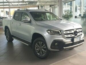 2020 Mercedes-Benz X-Class 470 X250d 4MATIC Progressive Silver 7 Speed Sports Automatic Utility North Hobart Hobart City Preview