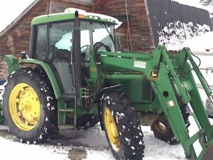 Johndeere   6300  Cabine   Chargeur