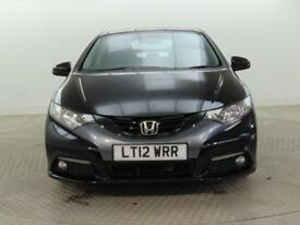 2012 Honda Civic I-VTEC ES Petrol black Manual
