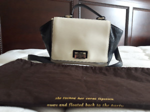 Kate Spade two-toned purse with Kate Spade red wallet.