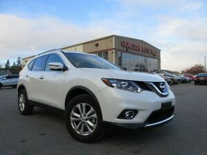 2016 Nissan Rogue SV AWD, ROOF, BT, HTD. SEATS, 15K!