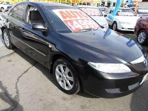 2004 Mazda 6 GG1031 MY04 Classic Black 4 Speed Sports Automatic Sedan Slacks Creek Logan Area Preview