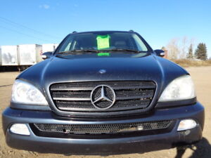 2003 MERCEDES-BENZ M-CLASS 320-AWD-LEATHER-SUNROF-EXCELLET SHAPE