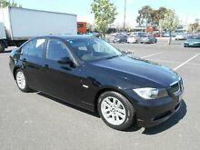 2006 BMW 320i E90 Executive Black 6 Speed Manual Sedan Maidstone Maribyrnong Area Preview