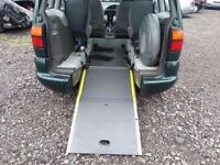 VOLKSWAGEN SHARAN WHEEL CHAIR ACCESS DISABILITY CAR