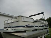 PRINCECRAFT PONTOON BOAT-40 MERCURY BIGFOOT EFI-$10499 FINANCING