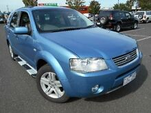 2005 Ford Territory SY Ghia (RWD) Blue 4 Speed Auto Seq Sportshift Wagon Maidstone Maribyrnong Area Preview