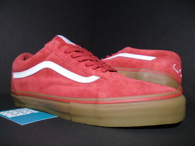 bdd8e2a9651d VANS OLD SKOOL PRO S GOLF WANG ODD FUTURE SYNDICATE RED GUM WHITE VN-0QHM8LL