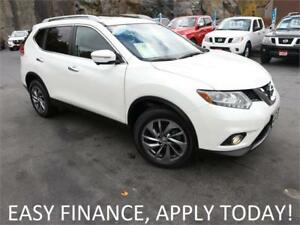 2015 Nissan Rogue SL AWD! DRIVER ASSIST TECH! NAV! PANO ROOF!