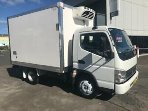 2007 MITSUBISHI CANTER 2.0, 150HP, 5 SPEED MANUAL TRANSMISSION, REFRIGERATED BODY WITH THERMOKING UN Milperra Bankstown Area Preview