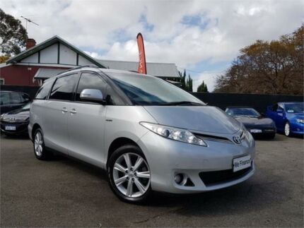 2012 Toyota Tarago GSR50R MY09 GLX V6 Silver 6 Speed Automatic Wagon Mount Hawthorn Vincent Area Preview