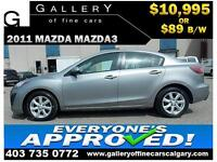 2011 Mazda Mazda3 GX $89 Bi-Weekly APPLY NOW DRIVE NOW