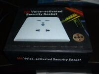 HD Spy Voice-Activated Wall Socket 606 Mini Camera recorder CCTV Home Security