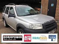 2003 Land Rover Freelander 2.0 TD4 ES 5dr Diesel silver Manual