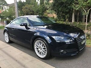 2008 Audi TT 8J MY09 8J Coupe 2dr Man 6sp 2.0T Navy Blue 6 Speed undefined Croydon Burwood Area Preview