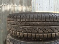 Winter tyres (continental) 195 65 R15