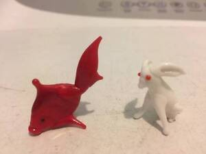 2 tiny glass ornaments $3 each Paralowie Salisbury Area Preview