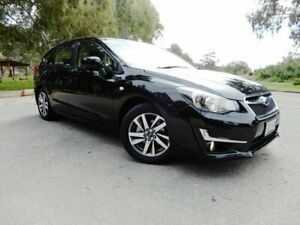 2015 Subaru Impreza G4 MY16 2.0i Lineartronic AWD Premium Crystal Black 6 Speed Constant Variable Glenelg East Holdfast Bay Preview