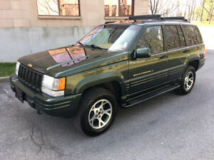 1997 Jeep Grand Cherokee orvis VUS