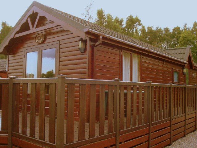 2 Bedroom Timber Holiday Lodge Chalet For Sale Aviemore