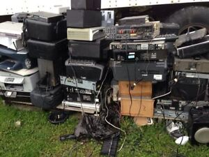 Free Electronic Re-cycle Pick up  e Waste 24/7 Batteries