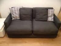 Grey 2 seater Habitat sofa in excellent condition