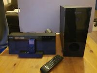 Sony AIRSW10TI Superior-Sounding Wireless Subwoofer with iPod / iPhone Speaker Dock System
