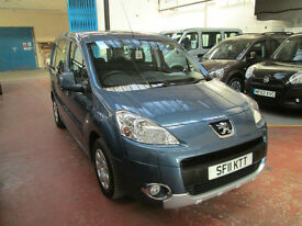 11 PEUGEOT PARTNER WHEELCHAIR ADAPTED 50 ADAPTED VEHICLES IN STOCK