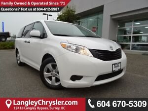 2016 Toyota Sienna 7 Passenger *ACCIDENT FREE*ONE OWNER*LOCAL...