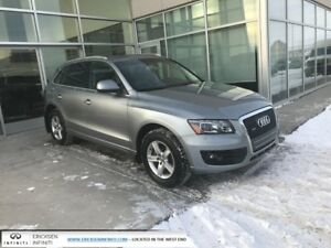2011 Audi Q5 ALL WHEEL DRIVE/HEATED SEATS/PANORAMIC SUNROOF