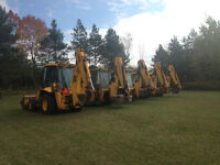 Backhoes available for RENTAL!