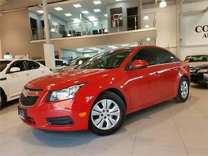 2014 Chevrolet Cruze 1LT-AUTOMATIC-REAR CAM-ONLY 75KM