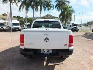 2012 Volkswagen Amarok 2H MY12.5 TDI420 4Motion Perm Trendline Candy White 8 Speed Automatic Utility Rosslea Townsville City Preview